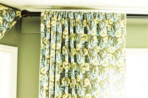 curtain hanging how to hang curtains a basic guide the m and m realty