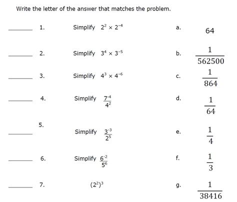 pattern matching part ii answer key part two mathematics