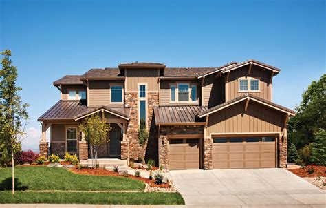 the sonterra is a luxurious toll brothers home design available at the highlands at parker the orion home design