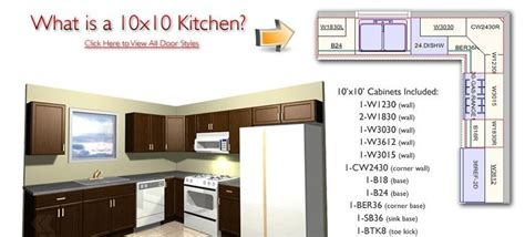 10 By 10 Kitchen Cabinets by 10x10 Kitchen Layouts House Furniture