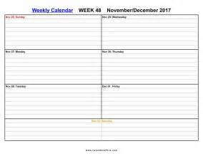 Weekly Calendar Template For Pages December 2017 Calendar Printable Printable Calendar Office