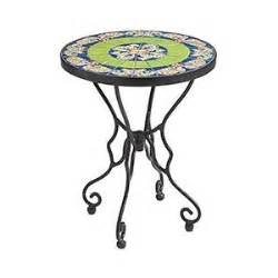 Outdoor Accent Table Paisley Outdoor Accent Table Green Polyvore