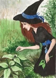 garden witch is