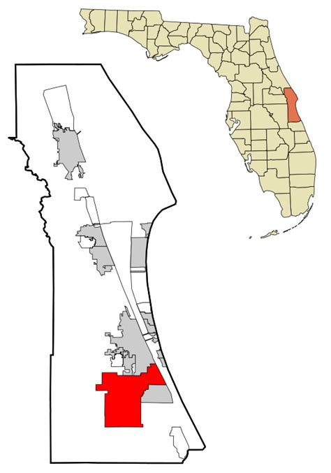 Search Bay County Fl File Brevard County Florida Incorporated And Unincorporated Areas Palm Bay Highlighted