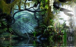 artistic landscape jungle computer wallpapers desktop backgrounds