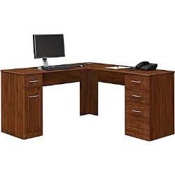 Altra Chadwick Collection Corner Desk Altra Chadwick Collection L Desk Virginia Cherry Staples 174