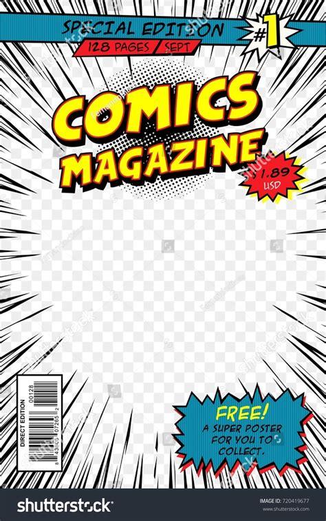 Cartoon Book Cover Design Fandifavi Com Comic Book Cover Template