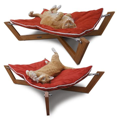 pet hammock bed bambu hammock dog bed pet ideas pinterest