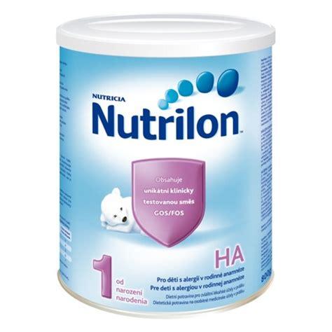 Nutrilon Ha 1 Nutrilon 1 Ha Pre Deti S Alergiou V Rodinnej Anamn 233 Ze Od