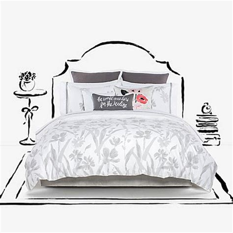 kate spade comforter sets kate spade new york brushstroke garden comforter set bed