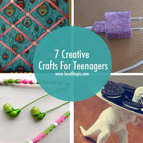 creative craft ideas for 7 creative crafts for teenagers