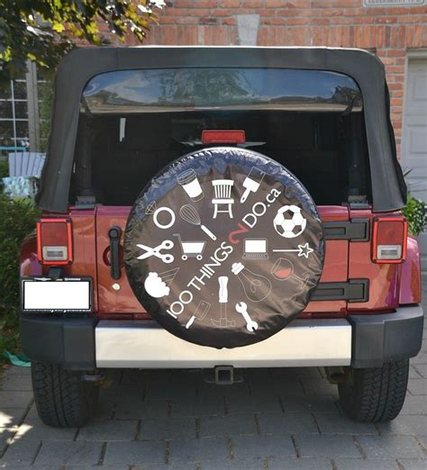 Custom Jeep Tire Cover 1000 Ideas About Spare Tire Covers On Spare