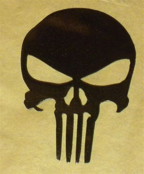 punisher skull stencil www pixshark com images