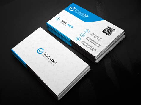 modern business card template 122 graphic pick