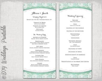 wedding ceremony order service template best photos of wedding reception order of service ceremony