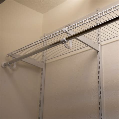 Installing Wire Closet Shelving install wire shelving