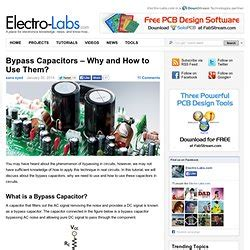 why bypass capacitor is used miscellaneous hardware pearltrees