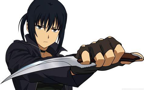knife guys wallpaper 2560x1600 anime knife warrior