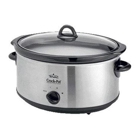 Rival Crock Pot by Rival Crock Pot Scv655 6 5l Cooker With Utensils Ebay