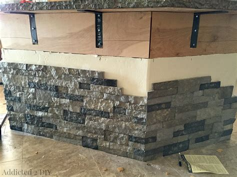 Lowes Kitchen Backsplash before and after diy kitchen island makeover addicted 2 diy