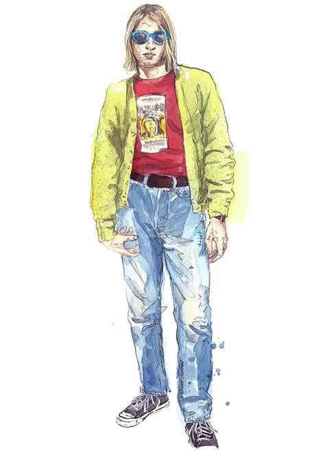 Wanna Buy Kurt Cobains Clothes Talk To by Kurt Cobain The Ultimate Grunge Style Guide