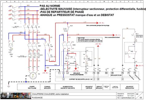 plan armoire electrique schema electrique bruleur d 233 pannage retour exp 233 rience e
