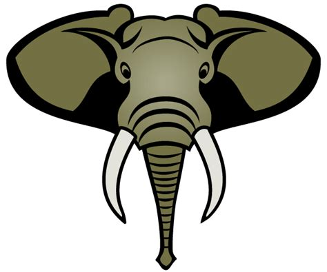 Elephant Face Clip Art - ClipArt Best