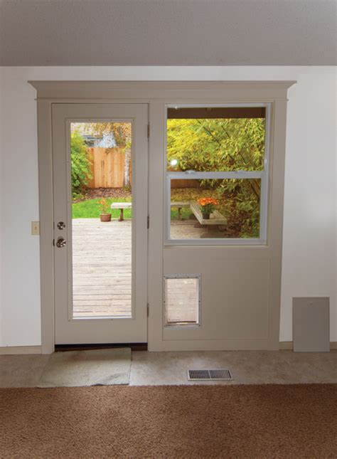 How To On Your Next Door by Adding A Patio Door And Window Combination How To
