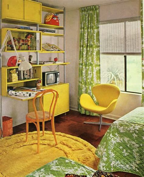 Modern Retro Themed Bedroom Kids Room Pinterest   kiddo time machine vintage 70s kid s room were swank