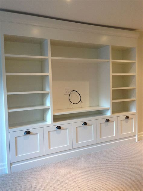 built in wall unit with desk and tv alliance millwork new host wall units custom built ins