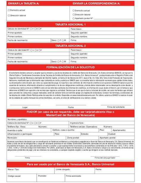 planilla de solicitud credinomina banco bicentenario planilla de banco bicentenario