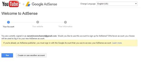 membuat google adsense youtube tutorial membuat akun adsense youtube terbaru update