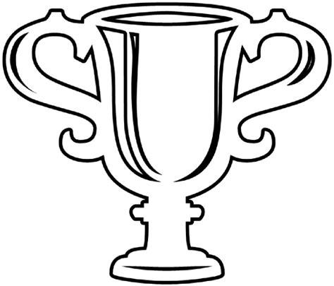 basketball trophy coloring pages trophy outline clip art at clker com vector clip art