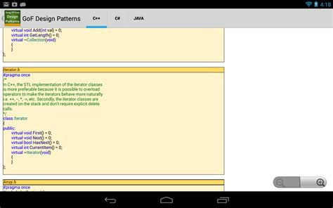 design pattern android application gof design patterns android apps on google play