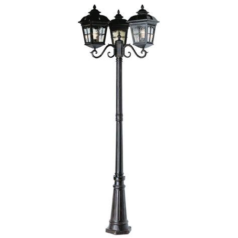 Bel Air Lighting 3 Light Outdoor Post Shop Bel Air Lighting 3 Light Post Top Lantern At Lowes
