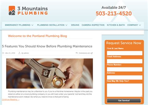 the 5 best plumbing blogs on the product