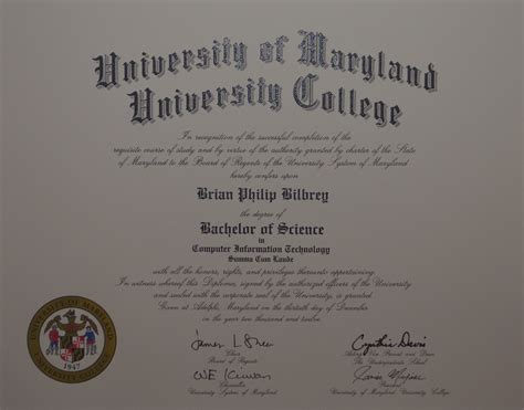 Umuc Mba by Bilbrey S Umuc Diploma Orb Designs