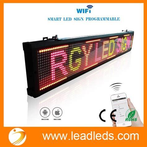 Led Wifi Backlite Sign wifi led sign wireless led sign led message board led sign board tricolor led