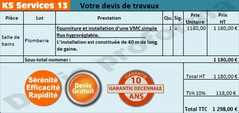 Installation D Une Vmc Hygroréglable by Ks Services 13 Prix Devis Installation D Une Vmc
