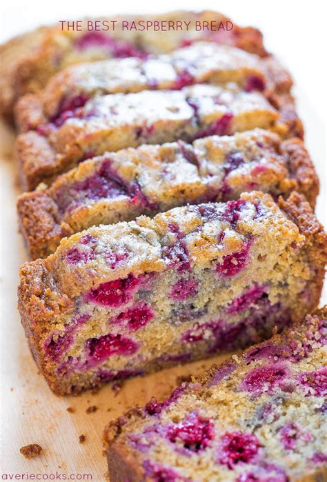 raspberry recipes 25 quick bread recipes no yeast required