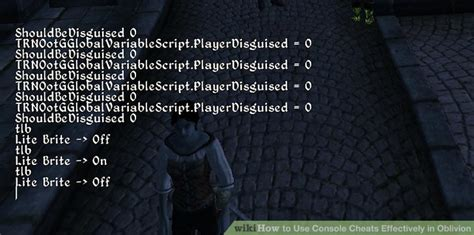 console oblivion how to use console cheats effectively in oblivion 2 steps
