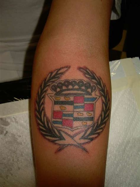 cadillac tattoos cadillac logo www pixshark images galleries