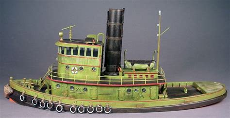ho scale boat kits ho 1 87 scale 92 steam railroad tug boat kit