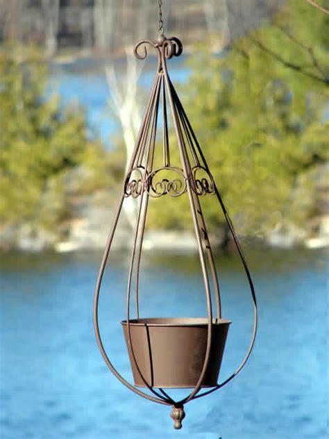 hanging metal planter metal hanging planter mondus distinction garden decor
