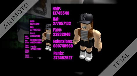 roblox clothes codes roblox high school girl outfit codes youtube