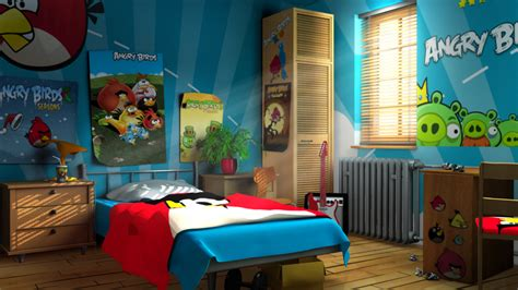 angry birds bedroom angry birds room by danield13 on deviantart