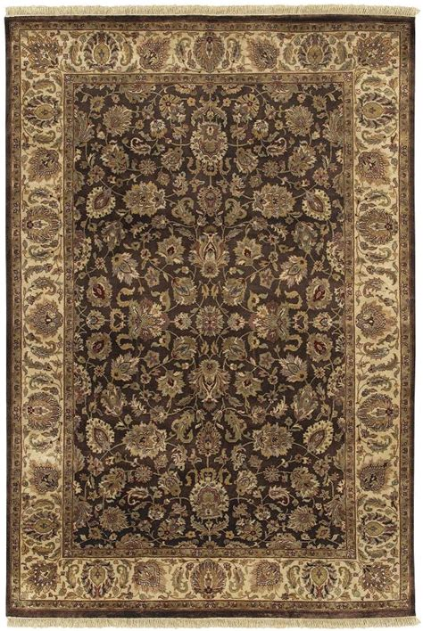 brown area rugs 5x8 surya knotted wool brown traditional 5x8 area rug approx 5 x 8 ebay