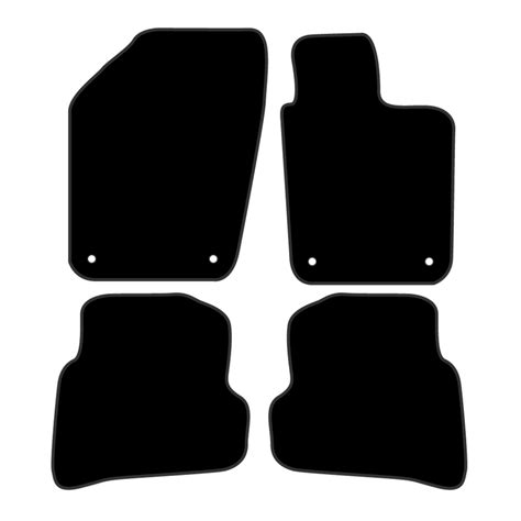 charcoal tailor made floor mats volkswagen vw polo 6r