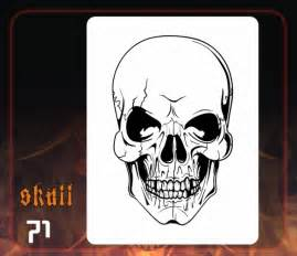pin skull airbrush template ajilbabcom portal on