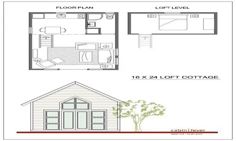 cabin with loft floor plans 16x24 cabin plans with loft 16x20 cabin floor plans small house with loft plans treesranch com